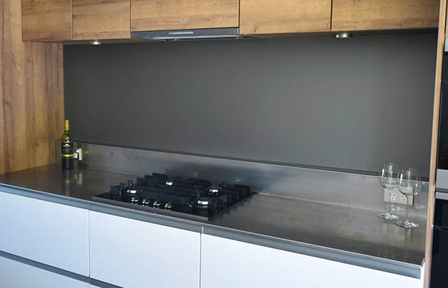 Frosted Splashback